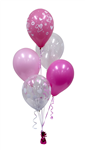 Balloon Arrangement 1St Birthday Girl 5 Balloons 103