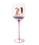 Blush Wine Glass 21