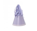 Five Star Party Hat With Tassel Topper Pastel Lilac 10 Pack