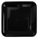 Five Star Square Banquet Plate 10 Black 20 Pack