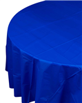 Five Star Table Cover Round True Blue