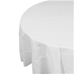 Five Star Table Cover Round White